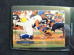 MIKE PIAZZA 1993 UPPER DECK ROOKIE OF THE YEAR # 310