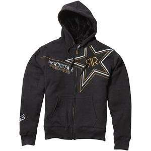 Fox Racing Rockstar Golden Sasquatch Zip Up Hoodie   Small