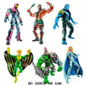 Marvel Legends Annihilus Series Action Figure Set of 6