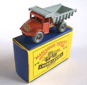 MATCHBOX MOKO LESNEY 6a QUARRY TRUCK, 1955, RARE