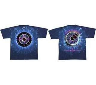 Pink Floyd   Pulse Concentric T Shirt ( XL ) New Tie Dye