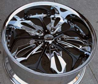 RVM 130 22 CHROME RIMS WHEELS CHRYSLER 300 300C V6 V8