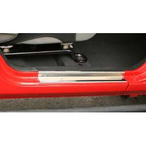 Jeep Wrangler (JK) 2 Door Stainless Steel Entry Guards