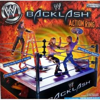 WWE WWF Wrestling Smackdown Ring Grapple Gear GAME OVER Breakaway
