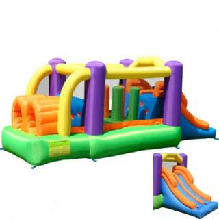 Inflatable Bounce House Pro Racer Bouncer with Slide Double Stitching