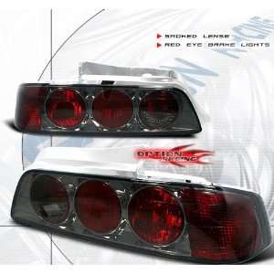 Honda Prelude Tail Lights Smoke Altezza Clear Taillights 1997 1998