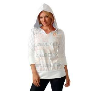 Baltimore Orioles Womens Beach Resort Hooded Tunic