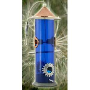Perky Pet WB Moon Dust Bird Feeder, Polished Copper and Brushed Silver