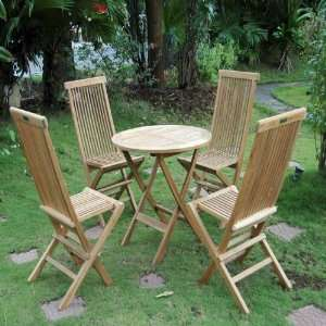 Windsor 31 Round Picnic Folding Table and Chair Set   3