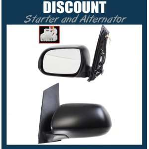 New Driver Side Mirror LH, 2011 Toyota Sienna, Power, Non Heated, W/O