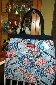 Vera Bradley Retired Limited Edition Seaside Port Tote