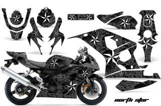 AMR SPORT BIKE DECAL WRAP KIT SUZUKI GSXR 600/750 04 05