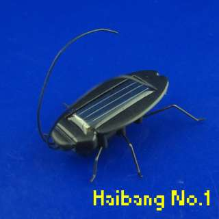 NEW Educational Solar powered Cockroach Toy Gadget Good Gift