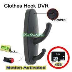 R18B 8G Motion Detector Spy Wireless Home Security Clothes Hook Camera