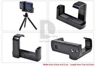 Cell Phone mini Tripod Stand + Holder for iPhone/Nokia