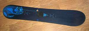 WOMENS GIRLS 139cm KITTY CAT FREESTYLE SNOWBOARD WOOD CORE 139