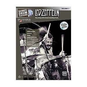 Ultimate Drum Play Along Led Zeppelin, Volume 2 Musical Instruments