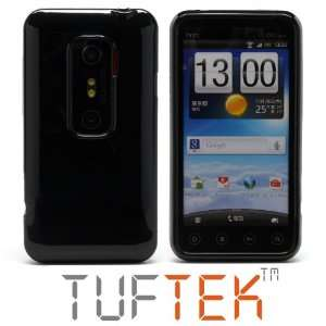 TUF TEK Glossy Piano Black TPU Candy Skin Case for Sprint