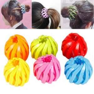 BDS   2 Pieces of Hair Ponytail Holder/ Ponytail Maker / Hairpin (One