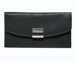 KENNETH COLE REACTION WOMENS LEATHER TRIFOLD WALLET NEW IN BOX GREAT