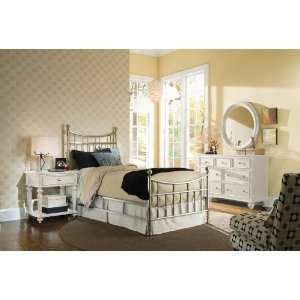 American Drew Camden Light Metal Bedroom Set