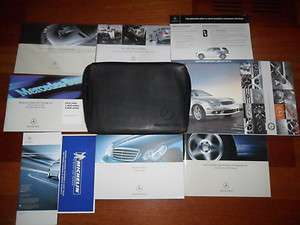 07 2007 MERCEDES BENZ C CLASS SEDAN OWNERS MANUAL GUIDE