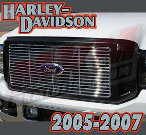 F250 F350 BLACK FORD SUPER DUTY HARLEY DAVIDSON GRILLE
