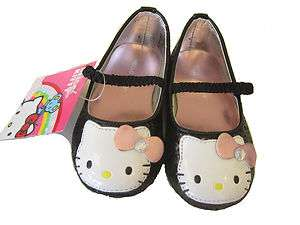 Hello Kitty Glider Flat Black Shoes