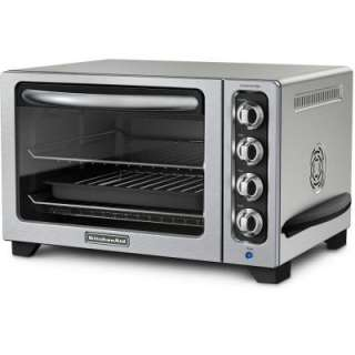 KitchenAid12 in. Countertop Convection Oven in Contour Silver