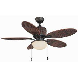 Hampton Bay Tahiti Breeze 52 in. Indoor/Outdoor Natural Iron Ceiling
