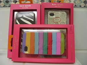 Kate Spade Iphone 4 Case Hardshell / Silicone You Choose New In Box