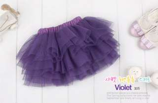 New Baby Girl Princess Tulle Tutu Skirt Cute