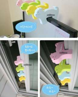 Baby Child Safety Gate card hand pinch 6pcs