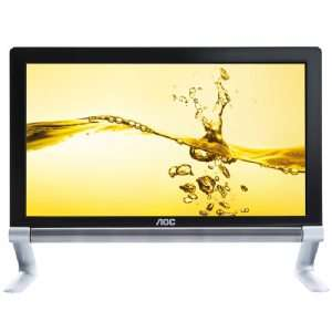 AOC Touchmate E2239FWT 21.5 Widescreen LED LCD Monitor   Black