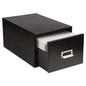 Buddy Products Steel Single Drawer Card Cabinet Holds 1500