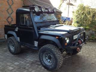 Land Rover Defender/90 3.9 V8 Auto Gas Converted Pick Up