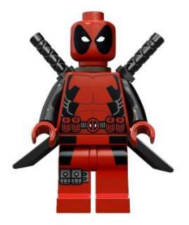 LEGO SUPERHEROES MINIFIGURE   DEADPOOL X MEN  NEW  MINI FIGURE Super