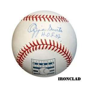 Ironclad St. Louis Cardinals Ozzie Smith Signed HOF Logo Baseball w