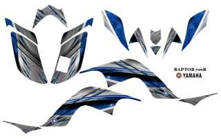 Yamaha Raptor 700 ATV Laminated Graphic Decal kit 1400B