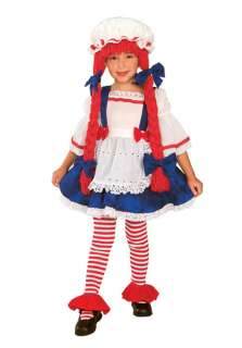 Rag Doll Girl Toddler/Child Costume for Halloween   Pure Costumes