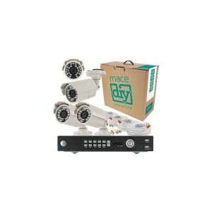 4 Channel 500Gb Dvr With 4 Color Cctv Bullet Camera System