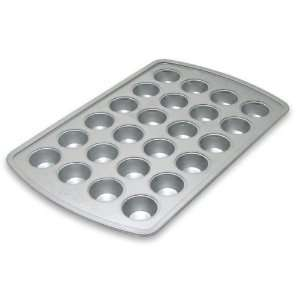 Designs Aluminum Clad Commercial Grade 24 Cup Mini Muffin Pan