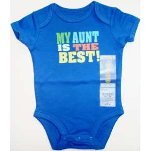 Nb Newborn Carters Boys Onesie Bodysuit My Aunt Is the