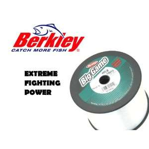 Berkley Big Game Fishing Line 40lb 1480yd Spool Clear