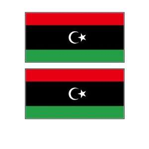 Libyan Flag Stickers Decal Bumper Window Laptop Phone Auto Boat Wall