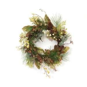 Artificial Pine, Cone & Berry Christmas Wreaths 22