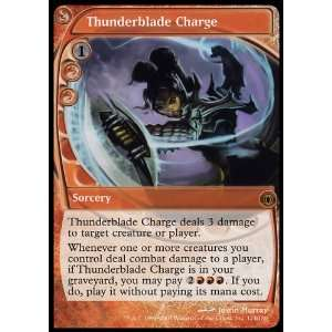 Gathering Thunderblade Charge Collectible Trading Card Toys & Games