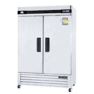 Refrigeration BASF2 49 cu ft. 2 Solid Door Commercial Reach In Freezer