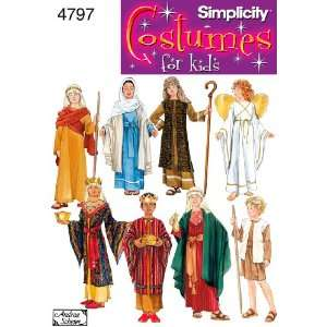 Simplicity Sewing Pattern 4797 Boy and Girl Costumes, A (S