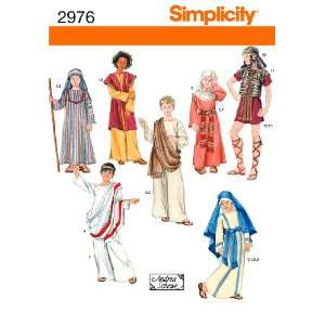 Simplicity Sewing Pattern 2976 Boy and Girl Costumes, A